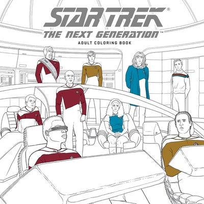 Star Trek The Next Generation Adult Coloring Book