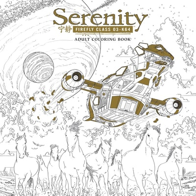 Hi Res Cover Serenity Adult Coloring Book