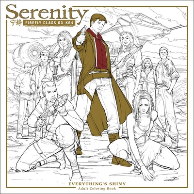 Hi Res Cover Serenity Everythings Shiny Adult Coloring Book