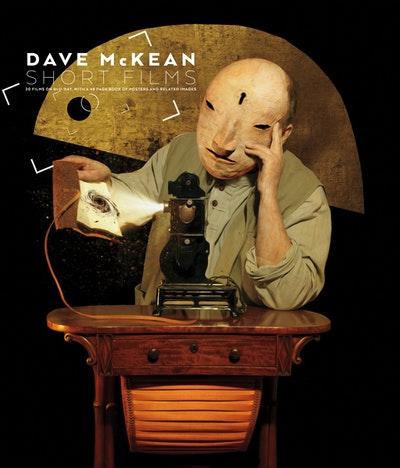 Dave McKean Short Films (Blu-Ray + Book)
