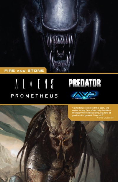 Aliens Predator Prometheus Avp Fire And Stone