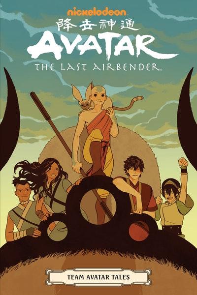 Avatar The Last Airbender - Team Avatar Tales
