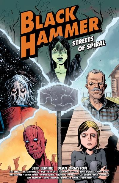 Black Hammer Streets of Spiral
