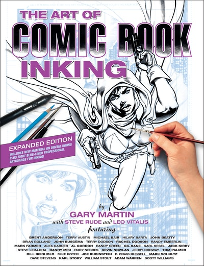 The Art Of Comic Book Inking (Third Edition)