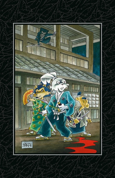 Usagi Yojimbo Saga Volume 8 Limited Edition