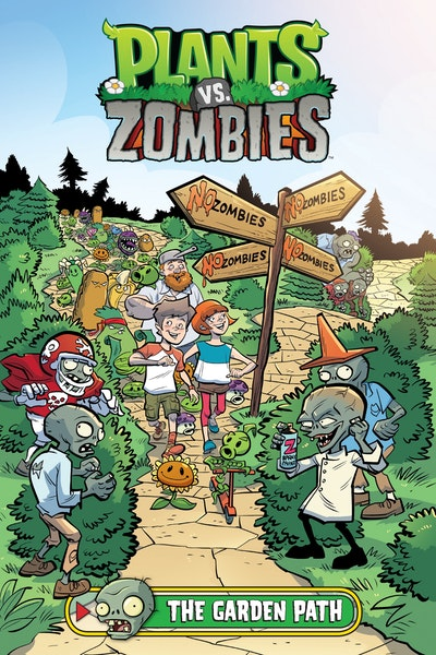 Plants vs. Zombies Volume 16: The Garden Path
