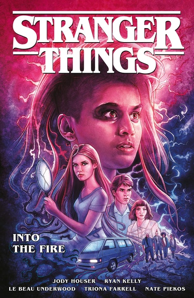 Stranger Things Into the Fire (Graphic Novel)