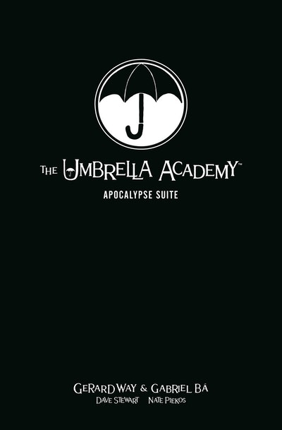 The Umbrella Academy Library Edition Volume 1