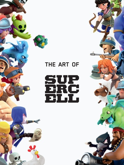 The Art of Supercell 10th Anniversary Edition (Retail Edition)