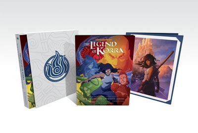 The Legend of Korra The Art of the Animated Series--Book Three Change (Second Edition) (Deluxe Edition)