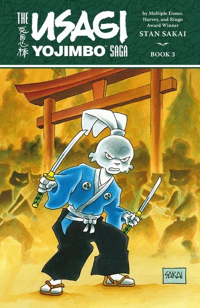 Usagi Yojimbo Saga Volume 3 (Second Edition)