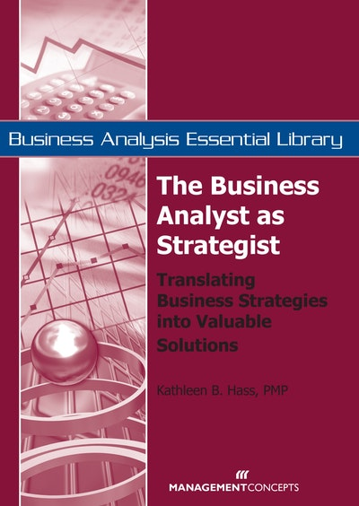 The Business Analyst As Strategist