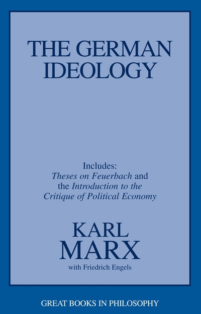 a critique of the german ideology by karl marx