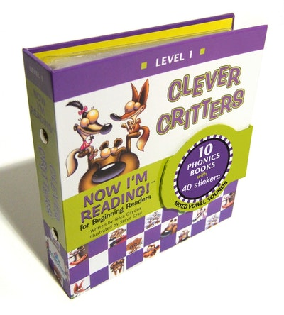 Now I'm Reading! Level 1 Clever Critters (Mixed Vowel Sounds)
