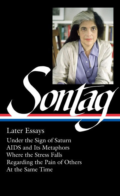 Susan Sontag Later Essays
