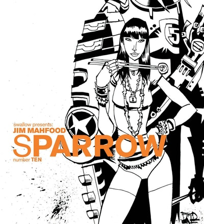 Sparrow Volume 10 Jim Mahfood