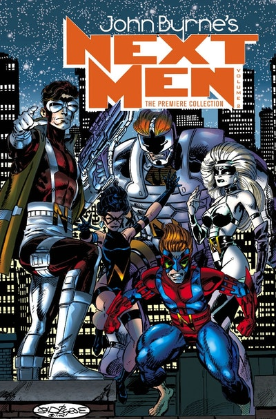 Next Men Premiere Edition Volume 2