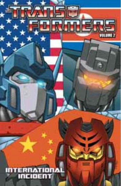 Transformers Volume 2 International Incident