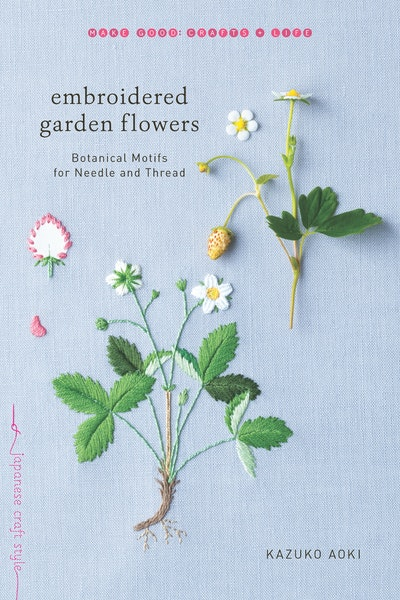Embroidered Garden Flowers