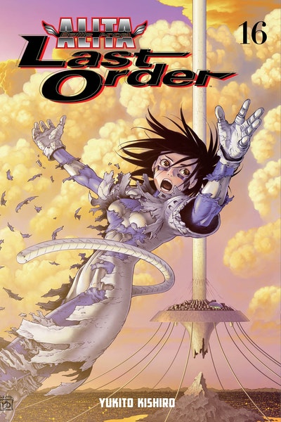 Battle Angel Alita Last Order Volume 16