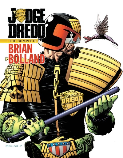 Judge Dredd The Complete Brian Bolland