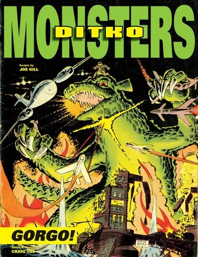 Ditko's Monsters Gorgo!