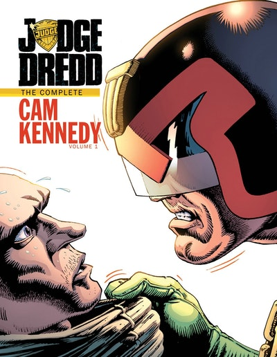 Judge Dredd The Cam Kennedy Collection Volume 1