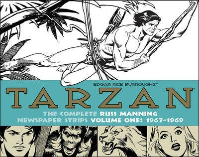 Tarzan The Complete Russ Manning Newspaper Strips Volume 1 (1967-1969)