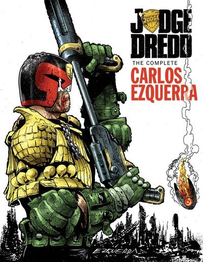 Judge Dredd The Complete Carlos Ezquerra Volume 2