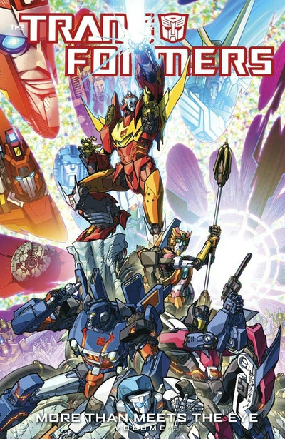 Transformers More Than Meets The Eye Volume 5