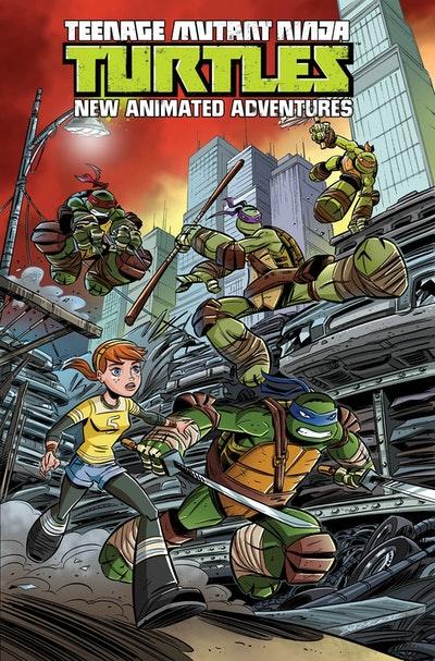 Teenage Mutant Ninja Turtles New Animated Adventures Volume 1