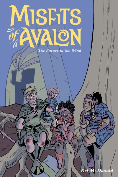 Misfits Of Avalon Volume 3 The Future In The Wind