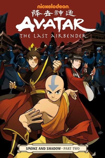 Avatar The Last Airbender - Smoke And Shadow Part Two
