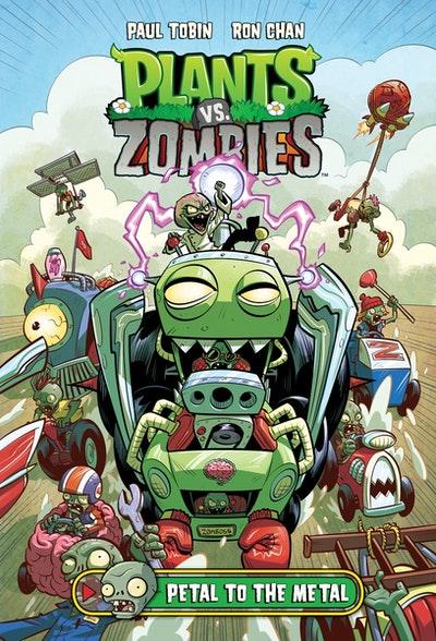 Plants Vs. Zombies Volume 5 Petal To The Metal