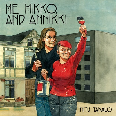 Me, Mikko, and Annikki