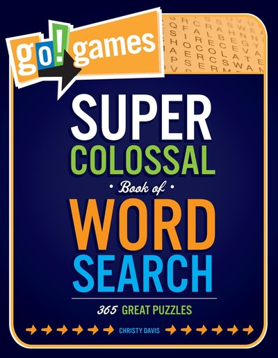 Go! Games Super Colossal Book Of Word Search