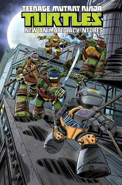 Teenage Mutant Ninja Turtles New Animated Adventures Volume 3