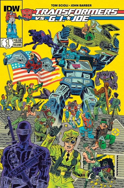 Transformers Vs G.I. Joe Volume 1