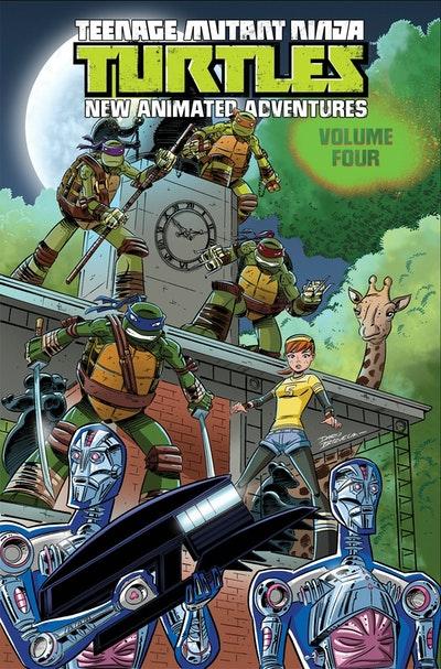 Teenage Mutant Ninja Turtles New Animated Adventures Volume 4