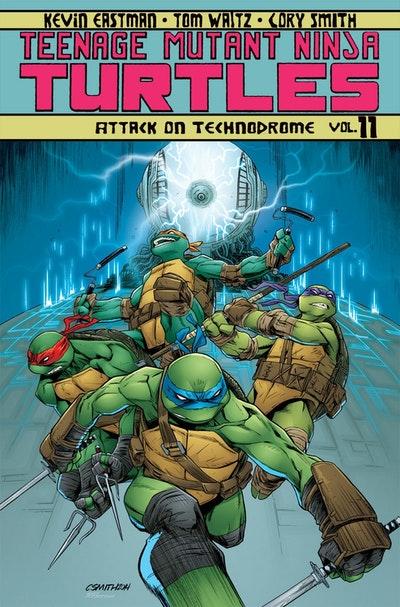 Teenage Mutant Ninja Turtles Volume 11 Attack On Technodrome