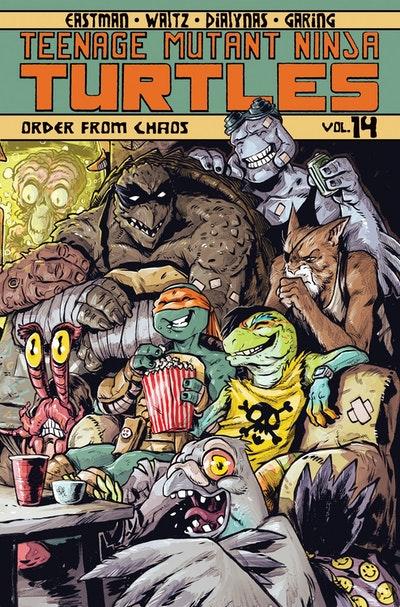 Teenage Mutant Ninja Turtles Volume 14 Order From Chaos