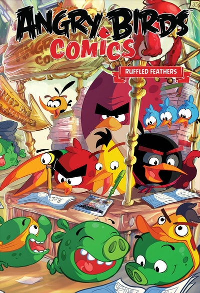 Angry Birds Comics Volume 5 Ruffled Feathers