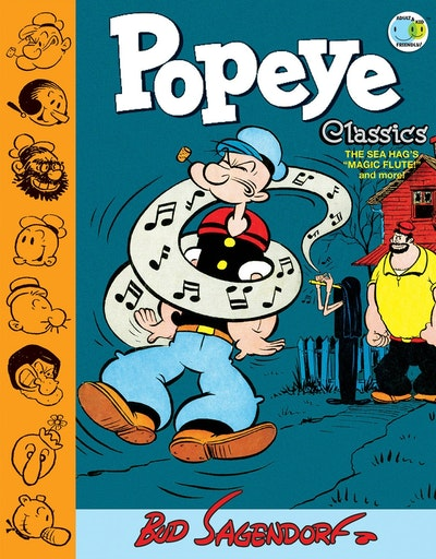 Popeye Classics Volume 9 The Sea Hag's Magic Flute And More