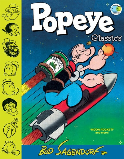 Popeye Classics, Vol. 10 Moon Rocket And More