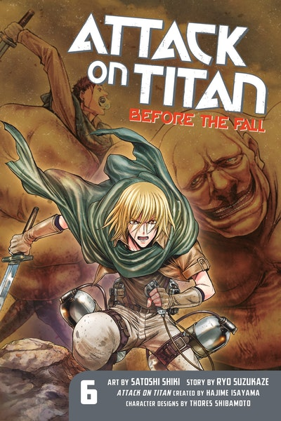 Attack On Titan Before The Fall 6