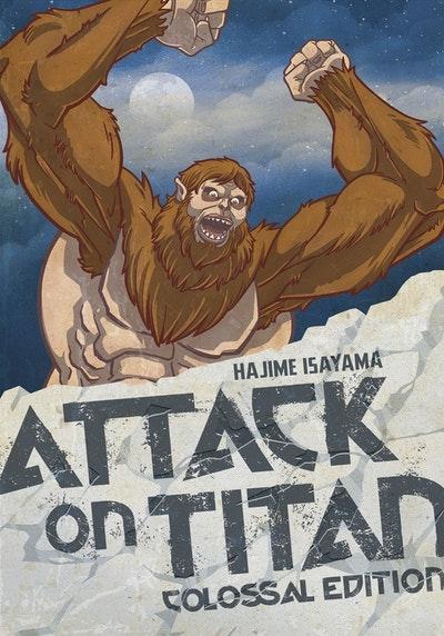 Attack On Titan Colossal Edition 4