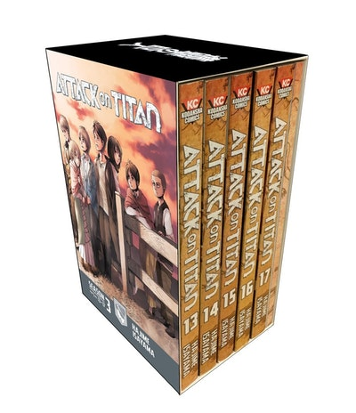 Attack On Titan Season 3 Manga Box Set