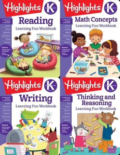 Highlights Kindergarten Learning Workbook Pack
