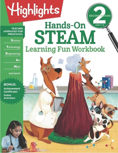Second Grade Hands-On STEAM Learning Fun Workbook