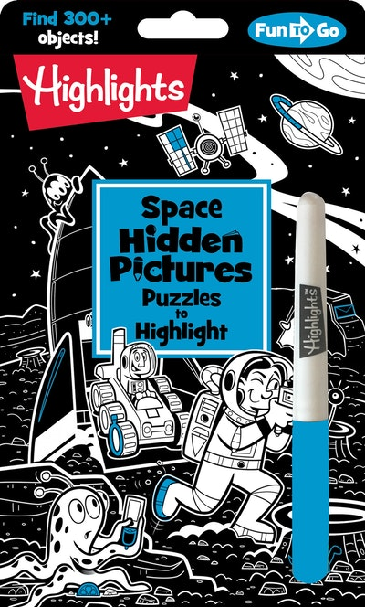 Space Hidden Pictures Puzzles to Highlight